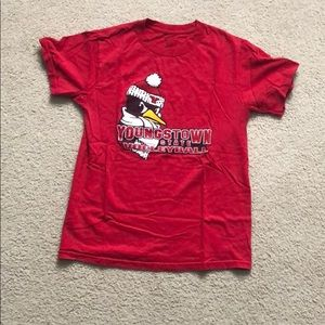 Tops - Youngstown State Volleyball T Shirt